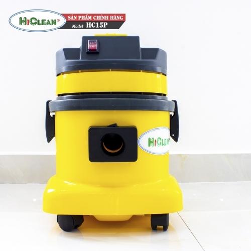 Máy hút bụi gia đình HICLEAN HC15P - thùng nhựa
