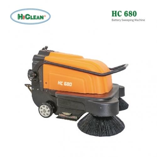 Máy quét rác đẩy tay HiClean HC680
