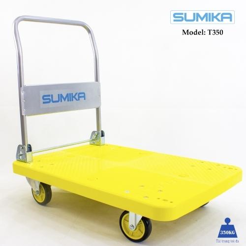 Xe đẩy hàng sàn nhựa SUMIKA T350 (tải trọng 350kg)