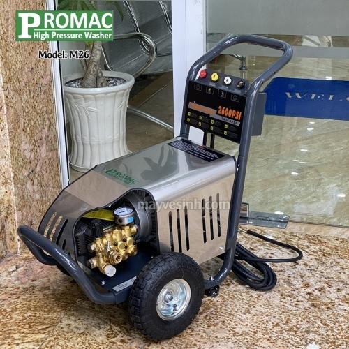 Máy phun rửa áp lực cao Promac M26