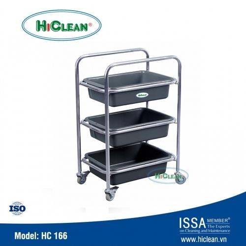 Xe đẩy dọn bàn khách sạn HiClean HC 166