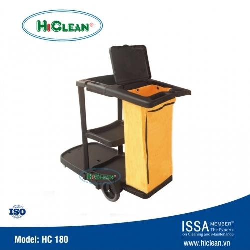 Xe đẩy dọn phòng khách sạn HiClean HC 180