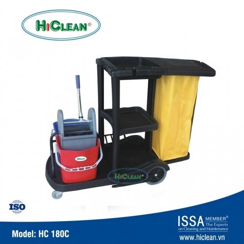 Xe đẩy dọn phòng khách sạn HiClean HC180C