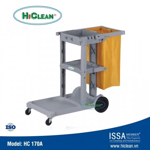 Xe đẩy dọn vệ sinh HiClean HC 170A