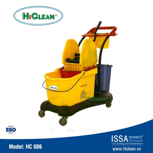 Xe đẩy vắt cây lau nhà HiClean HC 086