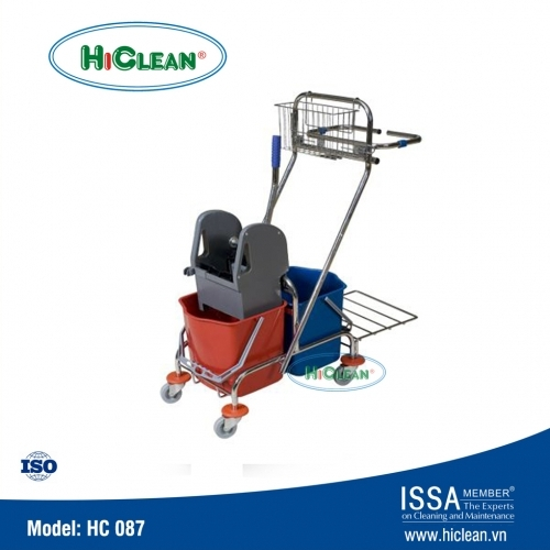 Xe đẩy vắt cây lau nhà HiClean HC087