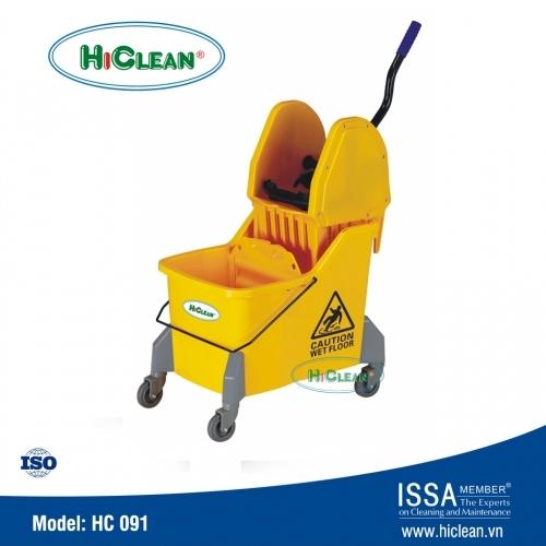 Xe ép nước lau sàn nhà HiClean HC 091