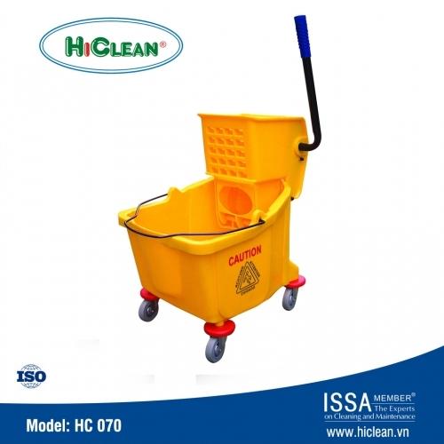 Xe ép nước lau sàn nhà xưởng HiClean HC 070