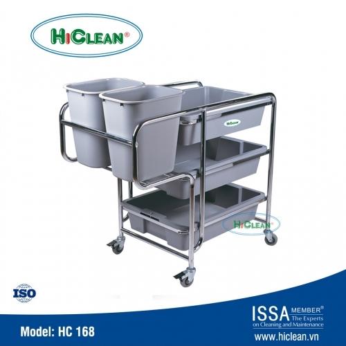 Xe thu gom thức ăn HiClean HC168