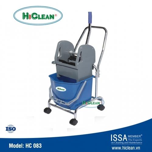 Xe vắt nước lau nhà 1 ngăn HiClean HC 083
