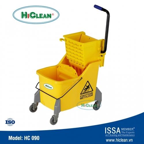 Xe vắt nước lau nhà 1 xô HiClean HC090