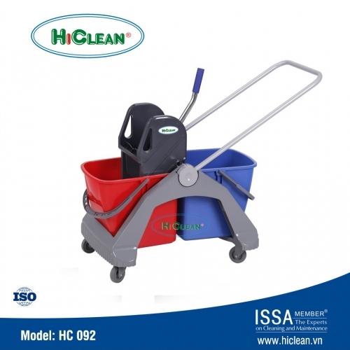 Xe vắt nước lau nhà 2 ngăn HiClean HC092
