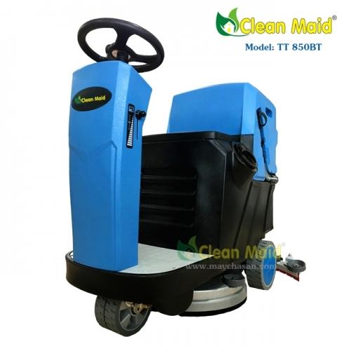 Máy chà sàn liên hợp ngồi lái CleanMaid TT 740MINI
