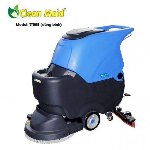 Máy lau sàn nhà CleanMaid TT50B (dùng bình)