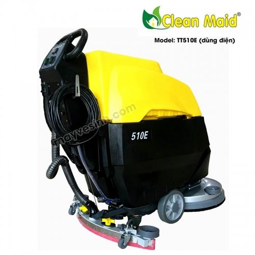 Máy lau sàn nhà xưởng CleanMaid TT510E (dùng điện)