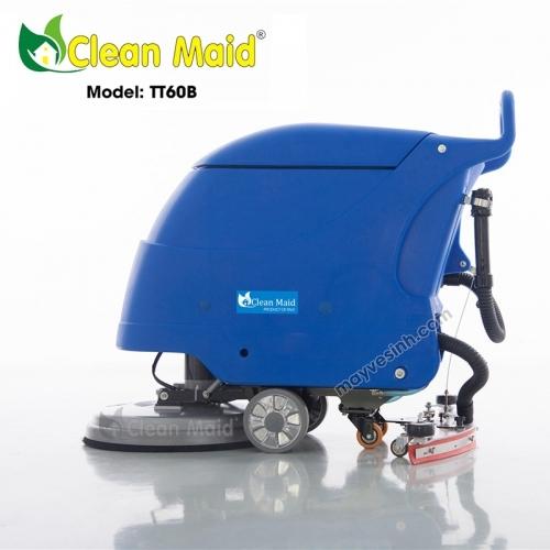 Máy lau sàn nhà xưởng CleanMaid TT60B (dùng bình)