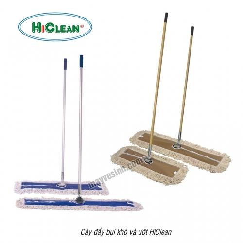 Giẻ lau cây đẩy bụi khô và ướt HiClean
