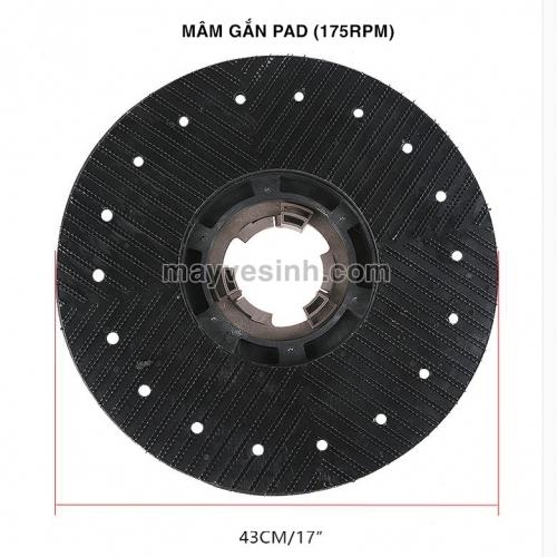 Bàn chải cứng máy chà sàn HiClean HC154