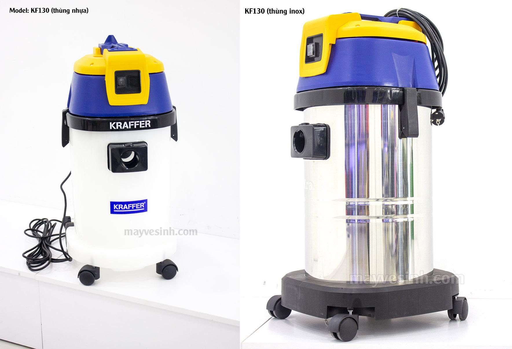 Máy hút bụi hút nước Kraffer KF 130
